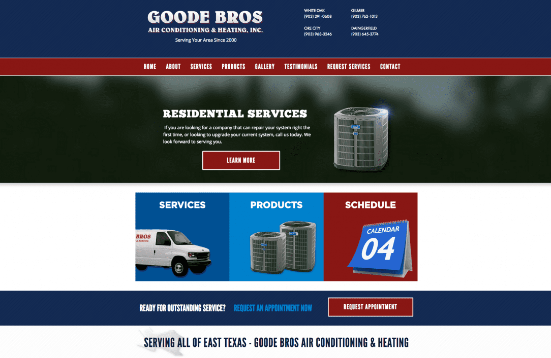 Goode Brothers Website
