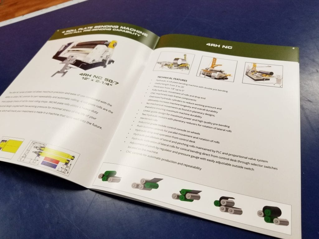 Fabrication Technology Solutions Brochure - Graphic Design - Print - Absolute Technology Solutions - Inner Page 2