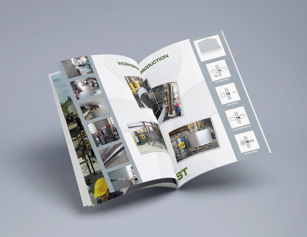 Fabrication Solutions Booklet Design